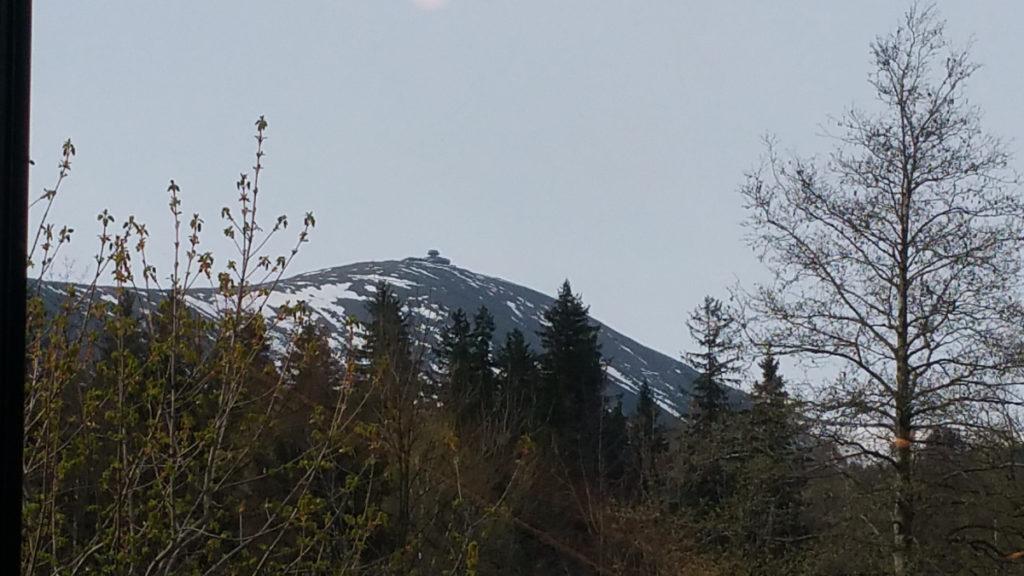 Mercure Karpacz Resort - widok na Śnieżkę