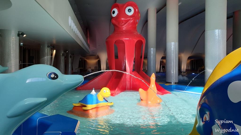 strefa dla dzieci w aquapark Świnoujście