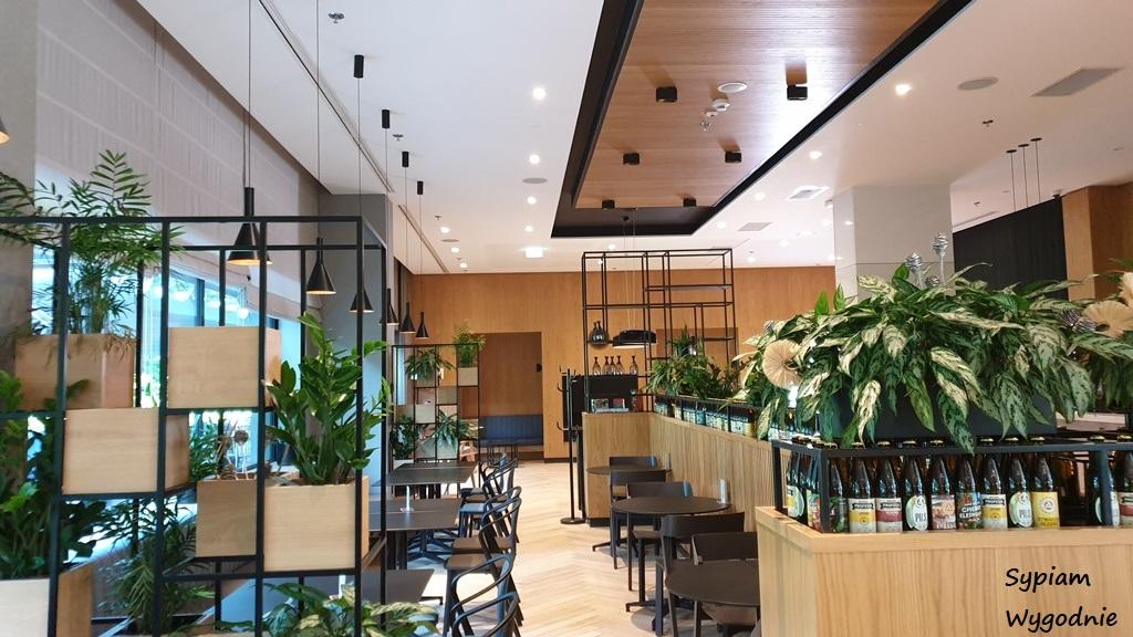 restauracja Suwak7 w Four Points by Sheraton Warszawa Mokotów
