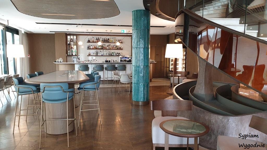 lobby bar w Hilton Świnoujście
