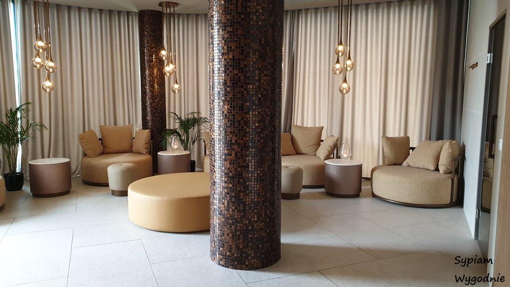 wypoczywalnia w strefie Wellness w Hilton Świnoujście