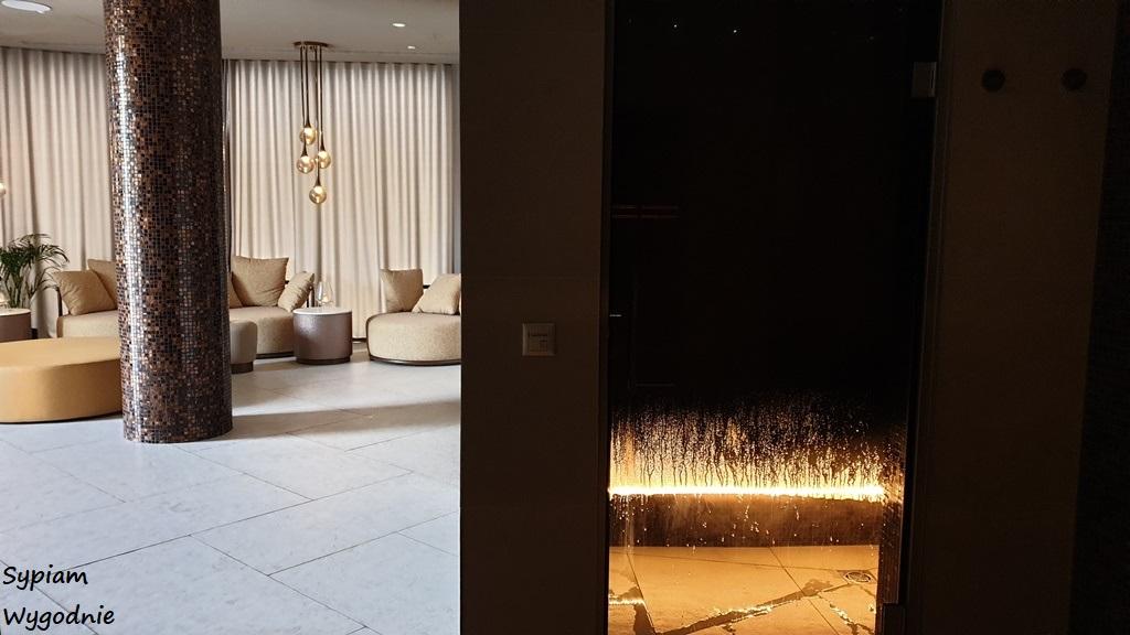 sauna parowa w strefie Wellness w Hilton Świnoujście
