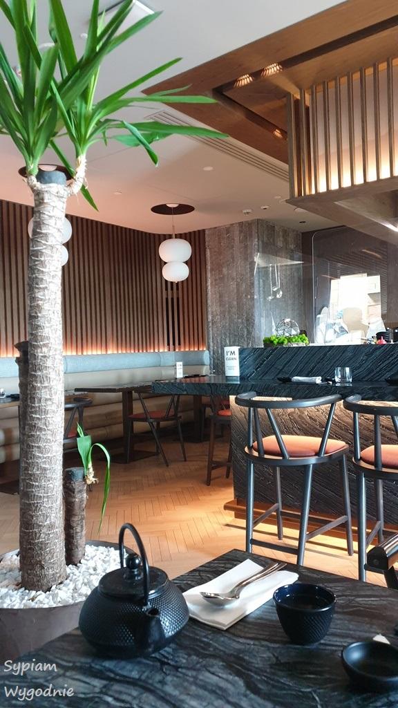 wnętrze Sushi Grill & Bar w Hilton Świnoujście