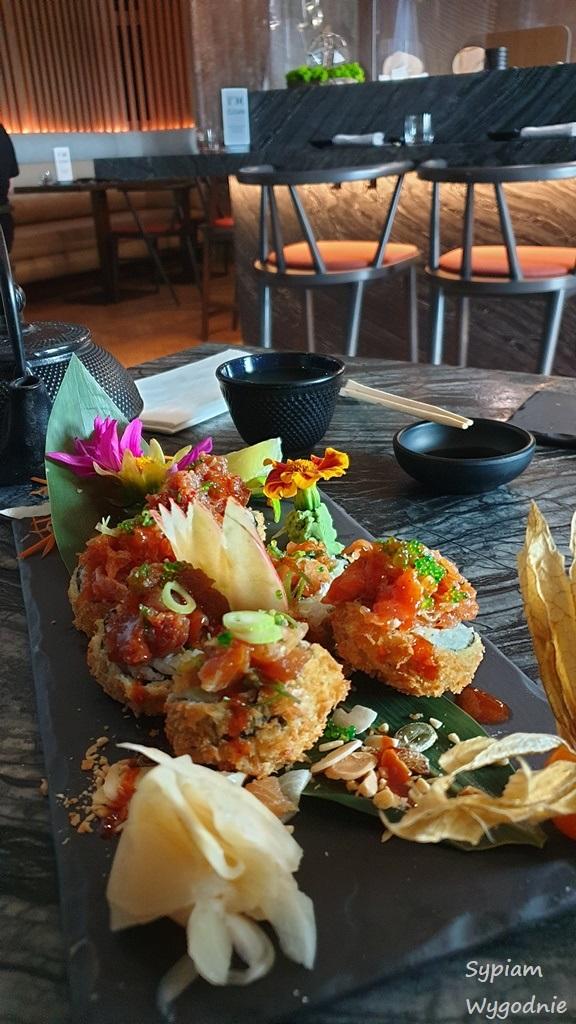 sushi w Hiltonie