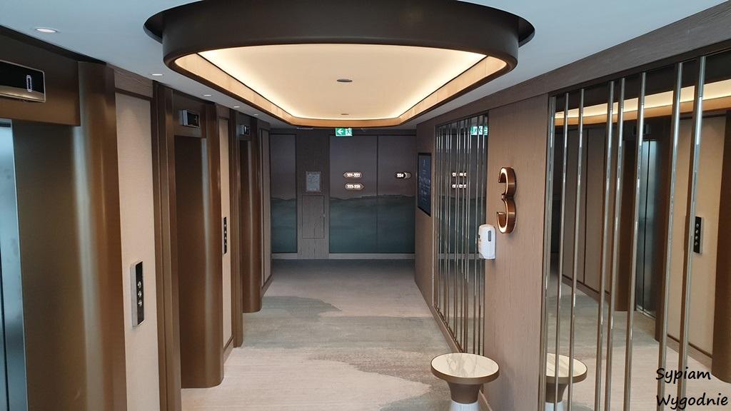 korytarz w Hilton Świnoujście