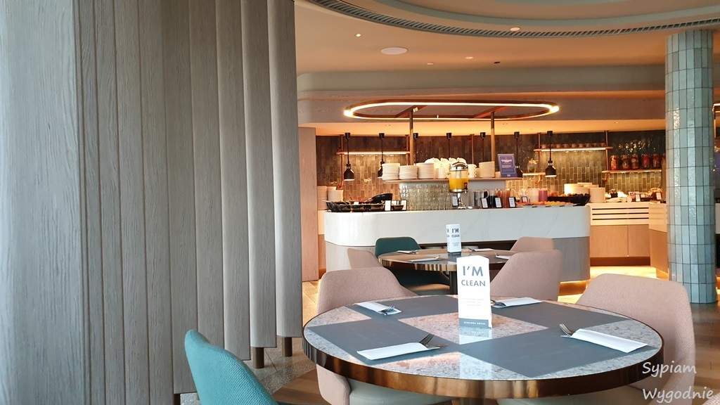 restauracja bufetowa Garner w Hilton Świnoujście