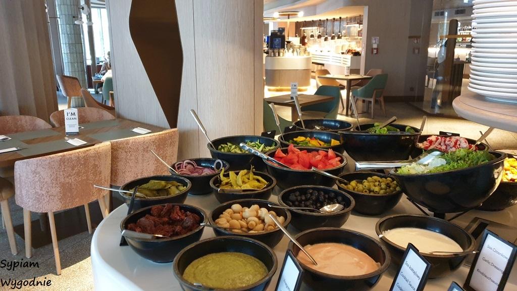 śniadanie w Hilton Świnoujście