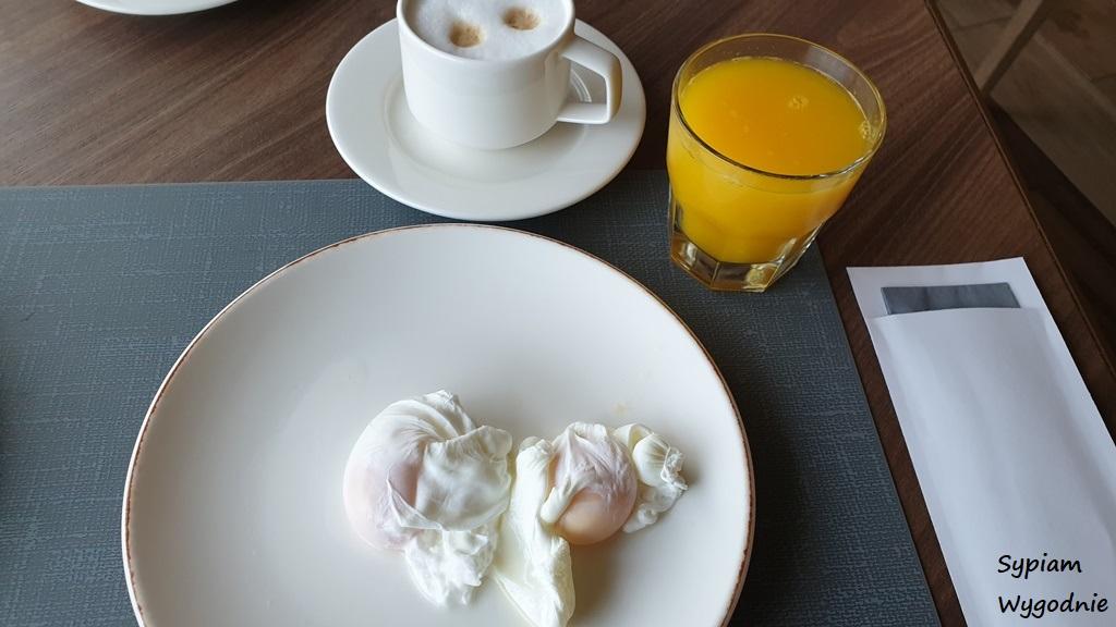 jajka po benedyktyńsku w Hilton Świnoujście
